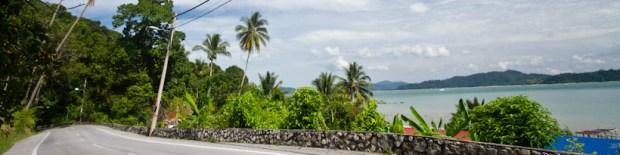 Western side of Palau Pangkor