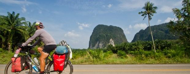 Riding around Krabi