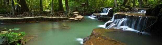 Thanbok Khoranee National Park waterfalls