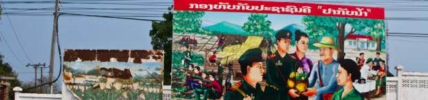 Billboard In Thakhek