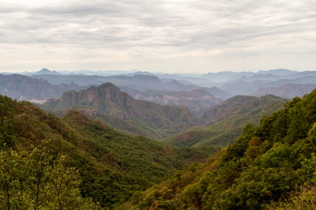 Views of Sierra Madre Occidental
