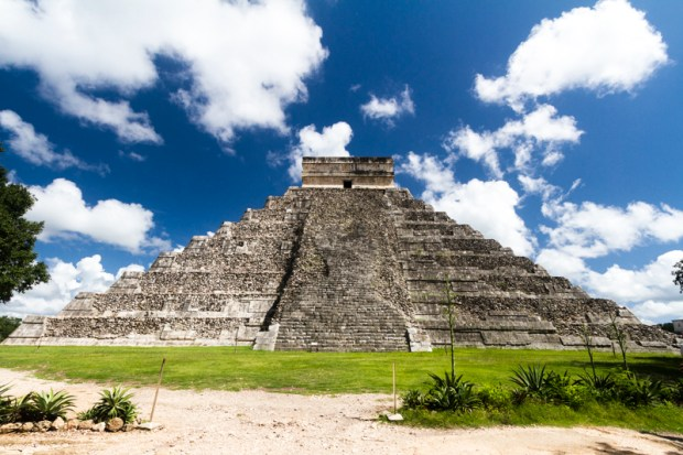 Pyramid of the Magician in Chiche Itza