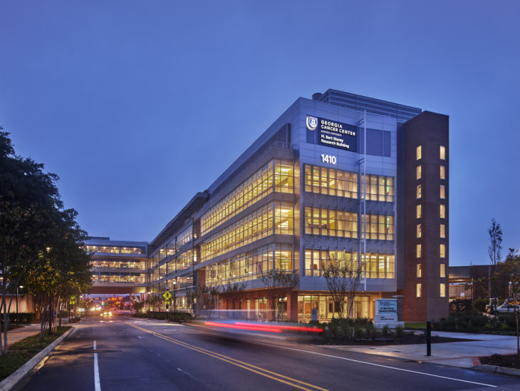 Georgia Cancer Center Research Building, Augusta University