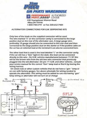 Alternator Issue  wiring??  LS1TECH  Camaro and