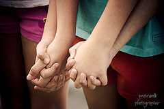Friends=Hands to Hold by jennymcb