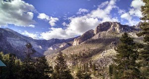 Mt. Charleston Kyle Canyon View Oct 2014