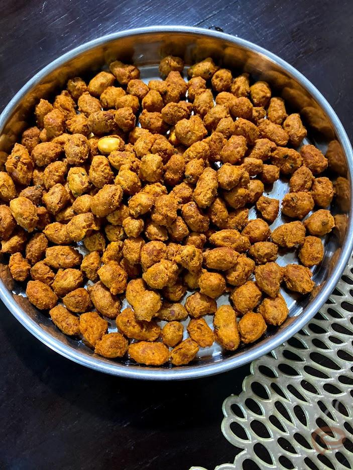 Masala Kappalandi Fry | Masala Peanut Fry