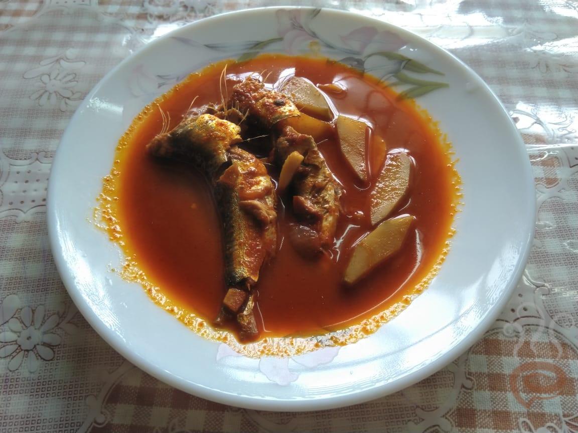 Mathi Manga Curry | Sardines Fish Mango Curry