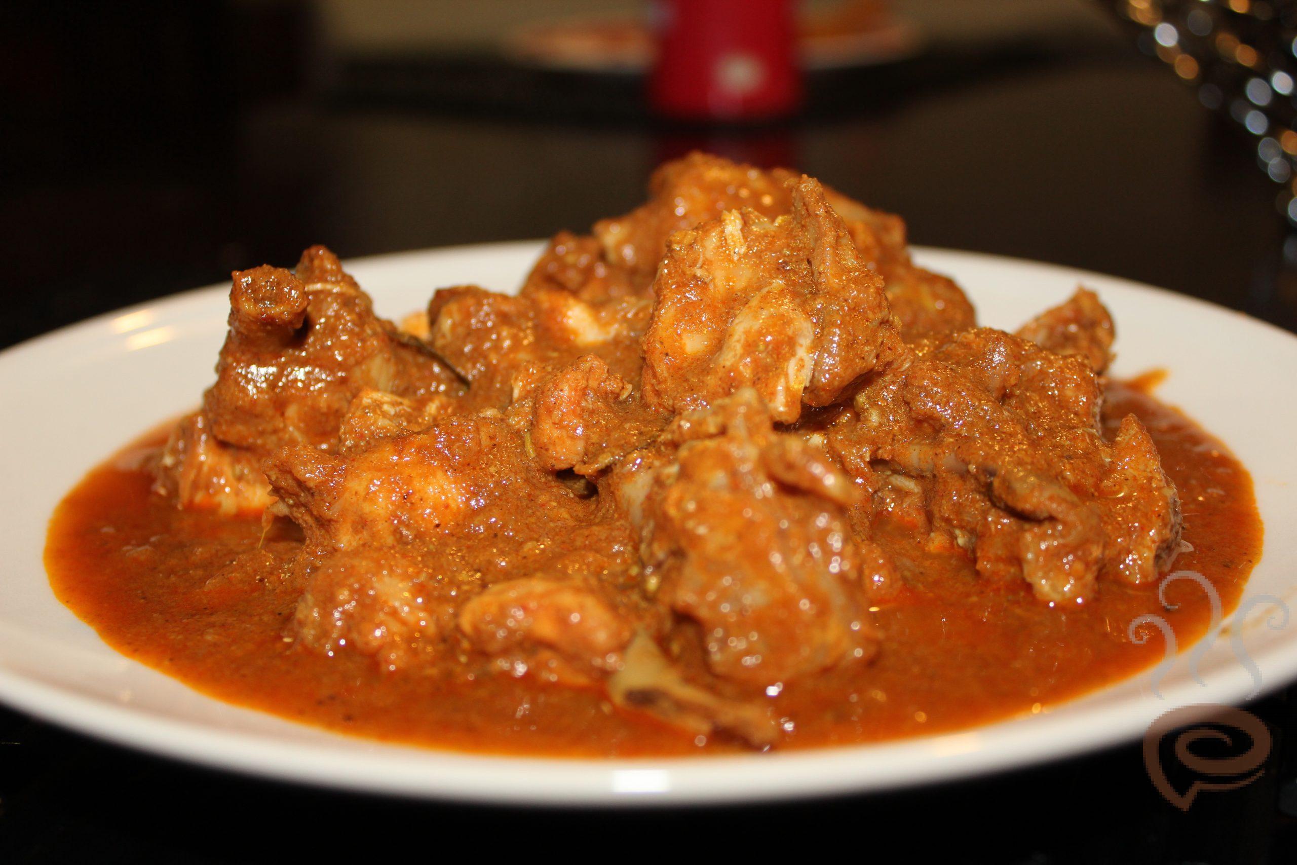 Kerala Style Uluva Chicken