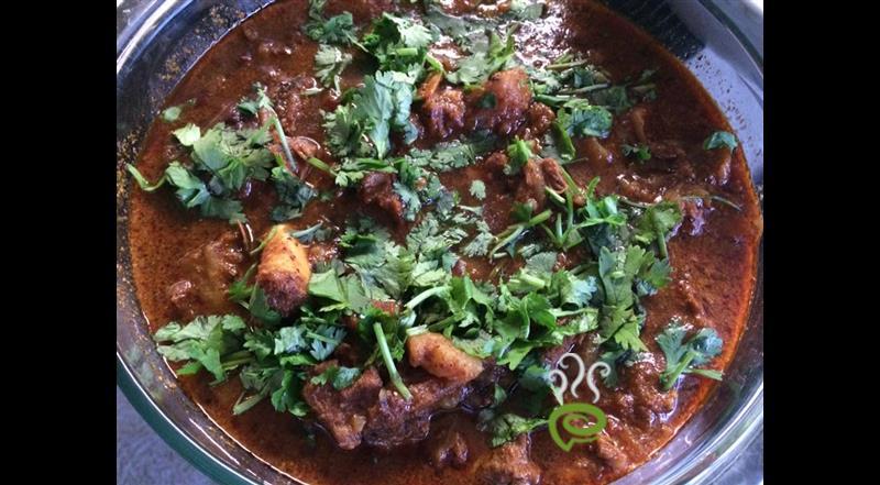 Chettinad Mutton Curry / Chettinad Mutton kulambu