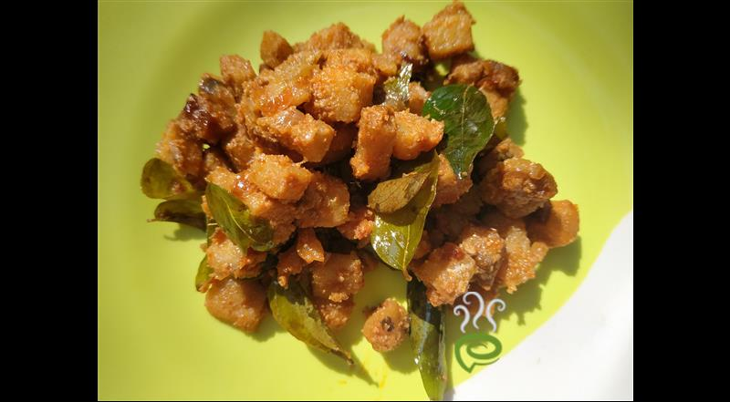 Kerala Style Chena Mezhukkupuratti Recipe-Elephant Yam Stir Fry