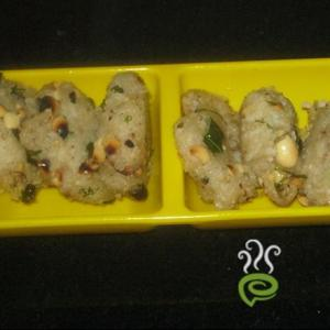 Cooked Rice Peanut Fritters
