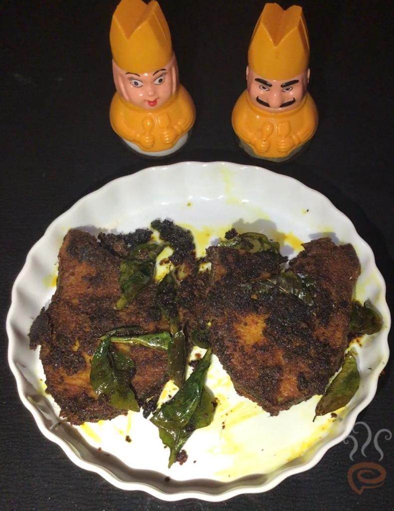 Kingfish Fry Kerala Style