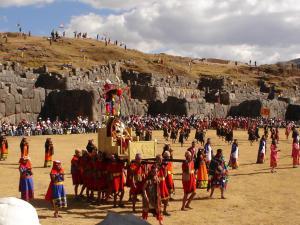 Quartier de Sacsayhuamán à Cuzco