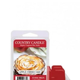 Country Candle Apple Cider Cake Wosk Zapachowy 64g