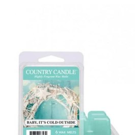 Country Candle Baby It's Cold Outside Wosk Zapachowy 64g