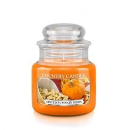 COUNTRY CANDLE Spiced Pumpkin Seeds Mały słoik 104g