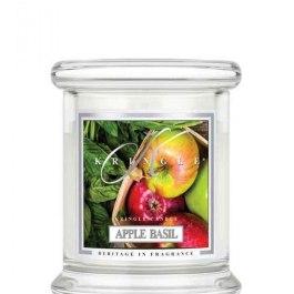 KRINGLE CANDLE Apple Basil Mała Świeca 127g