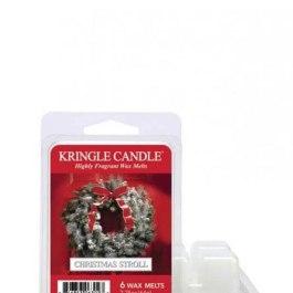 Kringle Candle Christmas Stroll Wosk Zapachowy 64g