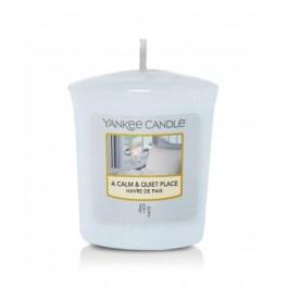 Yankee Candle A CALM & QUIET PLACE Świeca Zapachowa Votive 49g