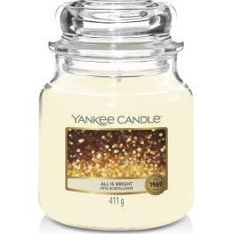 Yankee Candle ALL IS BRIGHT Średnia Świeca Zapachowa 411g