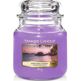 Yankee Candle BORA BORA SHORES Średnia Świeca Zapachowa 411g