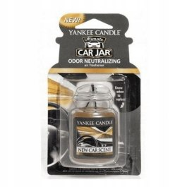 Yankee Candle NEW CAR SCENT Zawieszka do auta