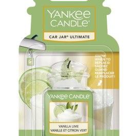 Yankee Candle VANILLA LIME Zawieszka do auta