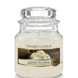 Yankee Candle COCONUT RICE CREAM Mała Świeca Zapachowa 104g