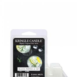Kringle Candle Black Pepper and Gin Wosk zapachowy 64g