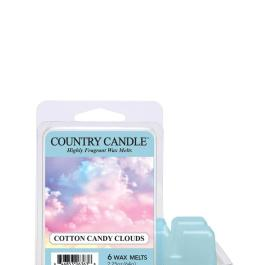 Country Candle COTTON CANDY CLOUDS Wosk zapachowy 64g