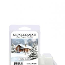 Kringle Candle Cozy Cabin  Wosk zapachowy 64g