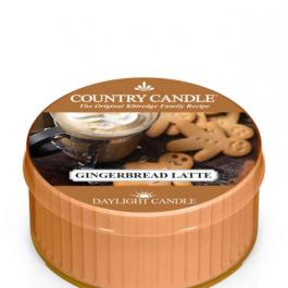 Country Candle Gingerbread Latte  Świeczka Zapachowa Daylight 35g