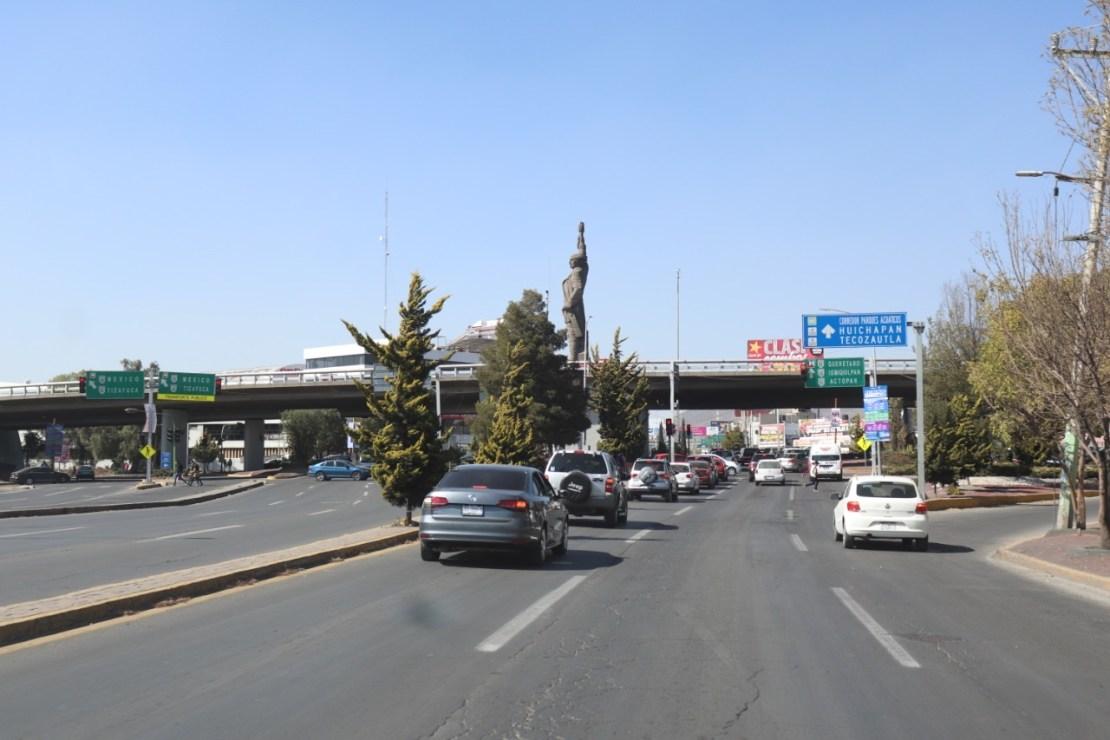 Comienzan la construcción del puente atirantado en la Glorieta 24 horas