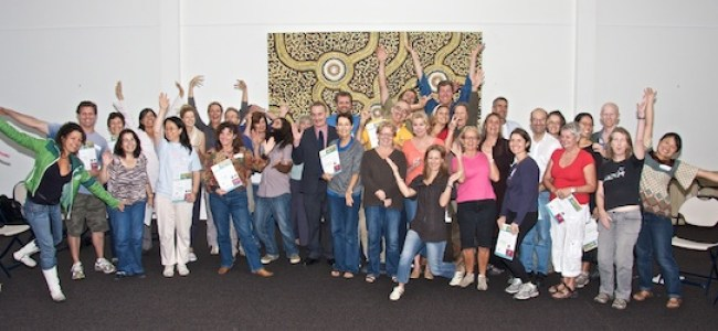 Graduates of Randwick Council's Living Smart and Sustainable Gardening course-summer 2011.