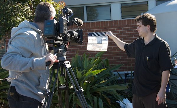 A University of Technology Sydney, Institute of Sustainable Futures film crew produced a training film for plumbers during the water efficiency retrofit of the building.