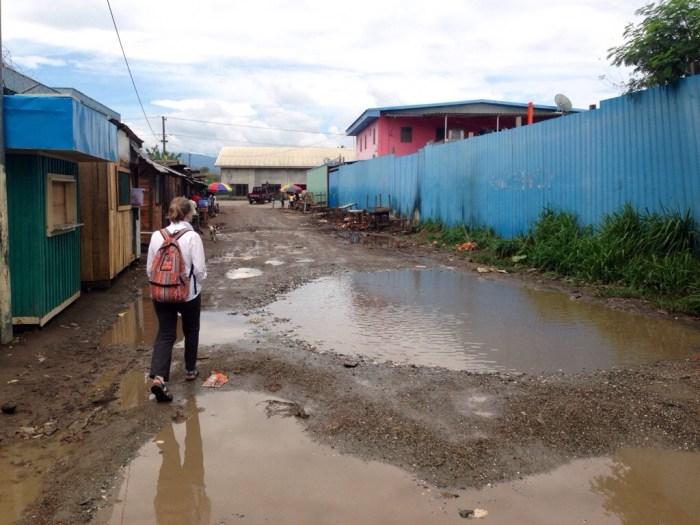 Solomons journeys: Just a little wet underfoot