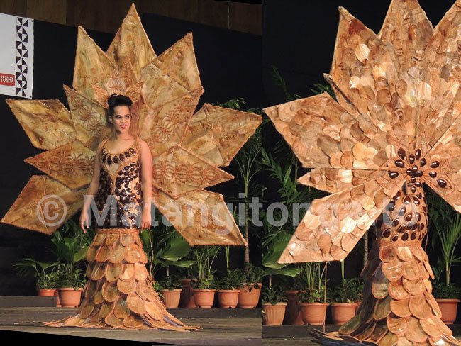 Fantastic creations by Tongan fashion designers