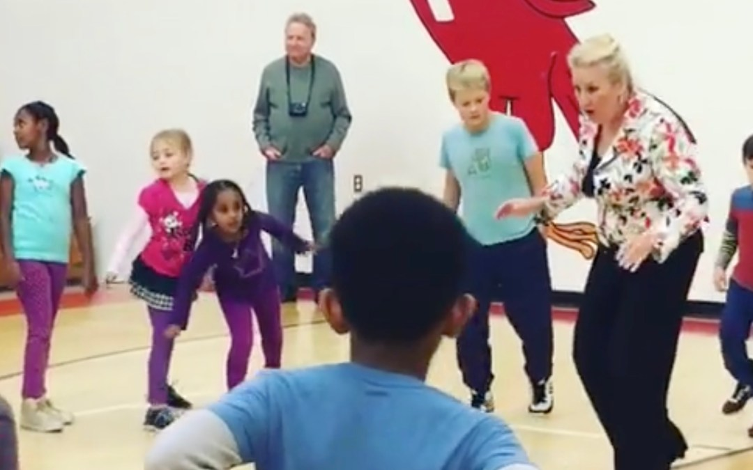 Concordia Lutheran Students Learn to Swing Dance with Pacific Ballroom Dance Instructors and Dancers
