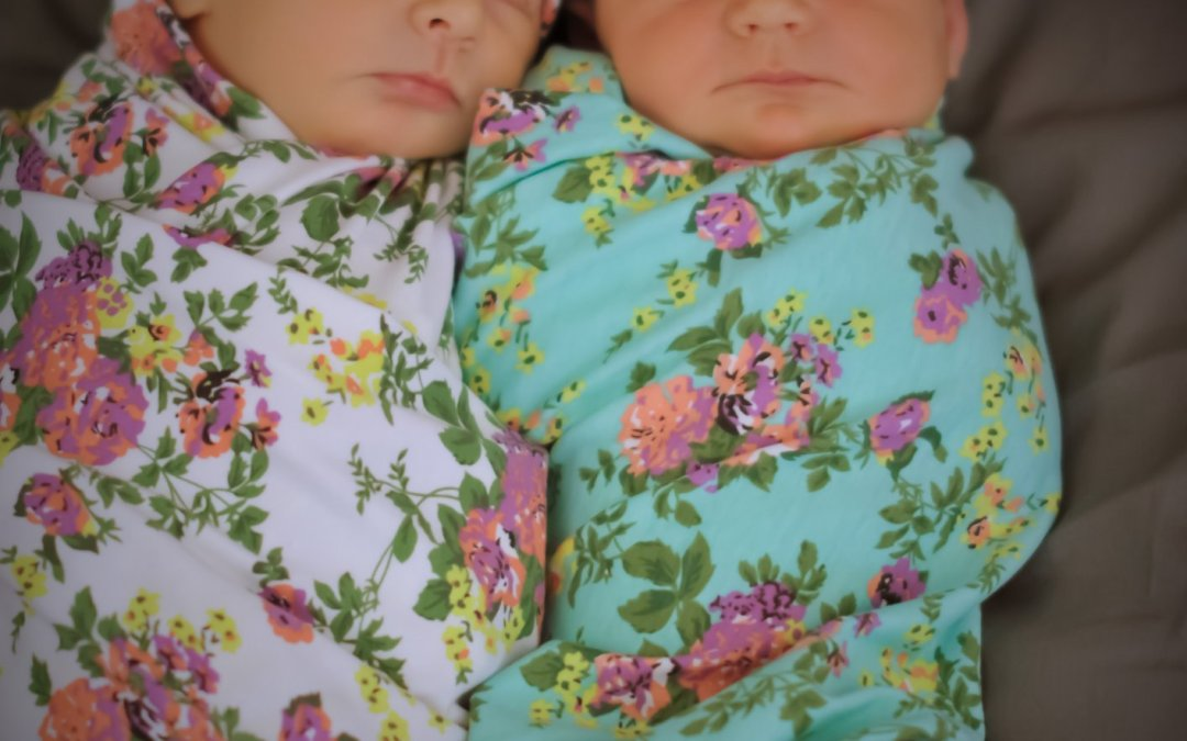 Twins Hazel and Ivy born to JP coach Heather Bryant