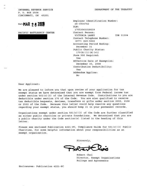 non profit determination letter thedoctsite co