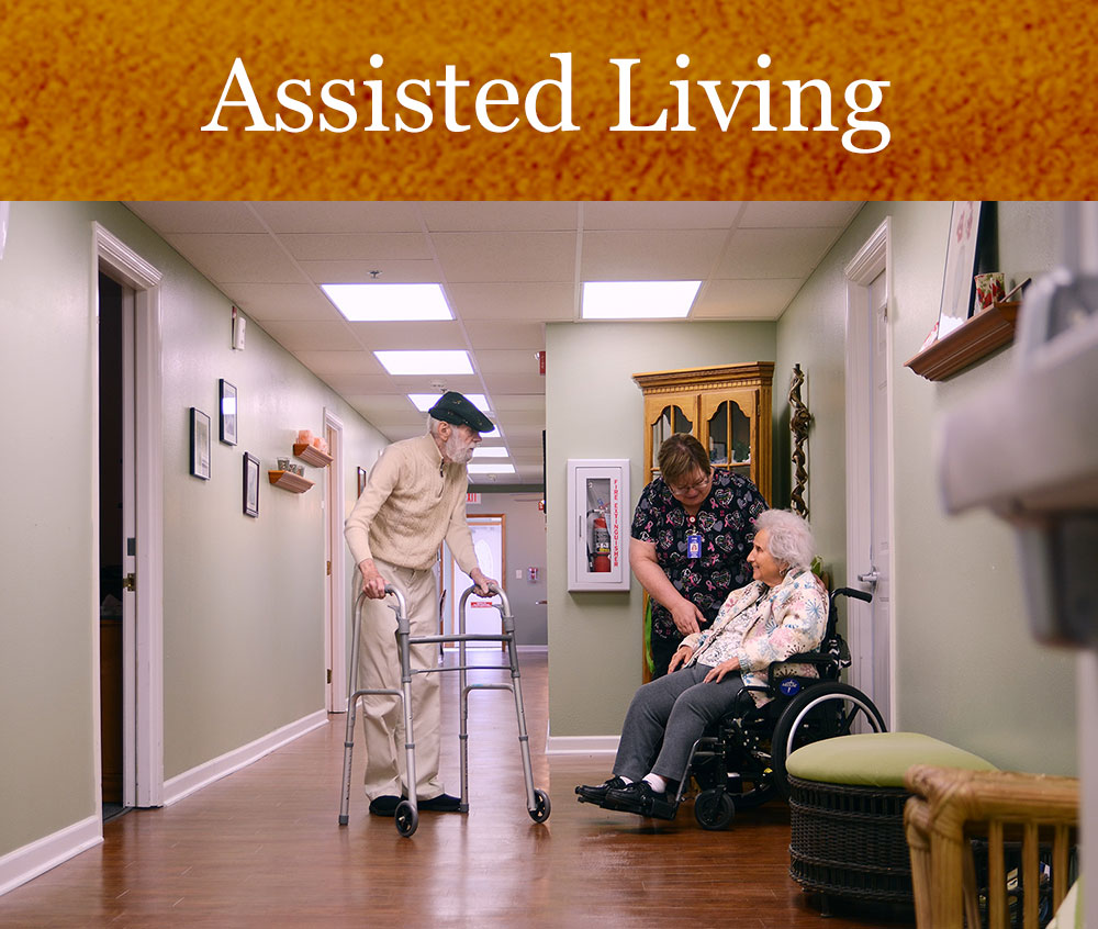The Terrace Assisted Living community on the campus of Pacific Care Center