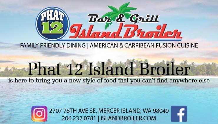 Phat 12 Island Broiler, PCMC Sponsors, PCMC, Pacific Cascade Mustang Club