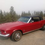 1967 Red Ford Mustang Convertible For Sale