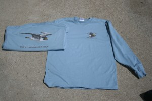 Pacific Coast Peregrine Watch Long Sleeve Stone Blue T-Shirts