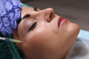 Procedure of facial injection
