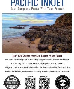 Pacific Inkjet 4x6 Premium Luster Product Image