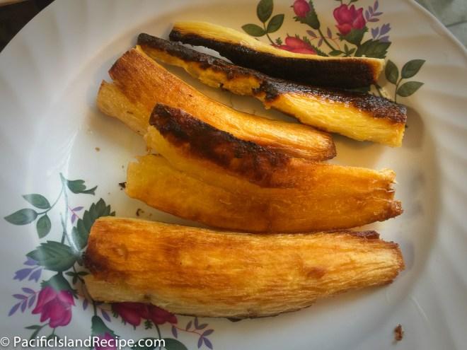 Fried cassava - tapioka - tavioka