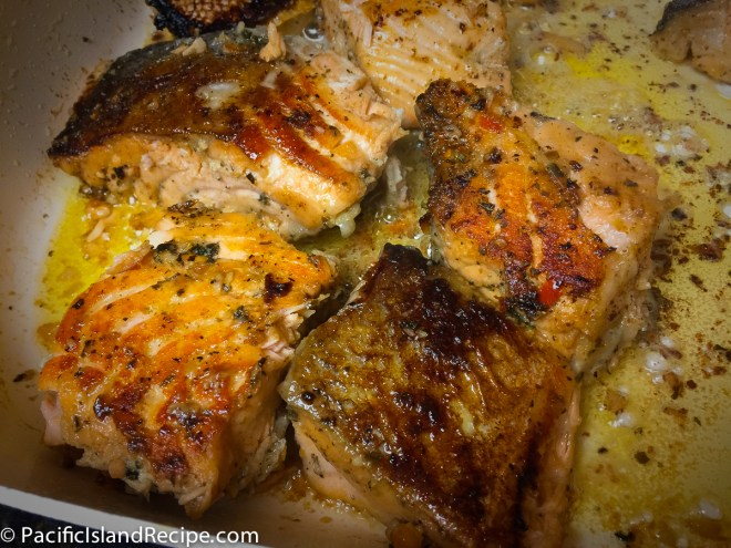 Fried Salmon