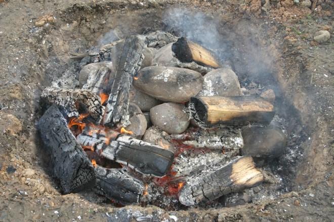 Lovo fire burning
